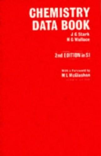 Chemistry Data Book by J.G. Stark