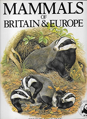 Mammals of Britain and Europe by Joyce Pope