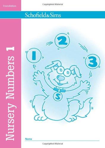 Nursery Numbers Book 1 by Sally Johnson