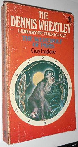 Werewolf of Paris by Guy Endore