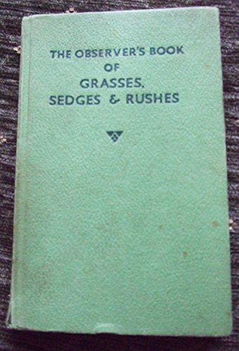 Observer's Book of Grasses, Sedges and Rushes by Francis Rose