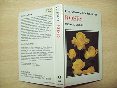 The Observer's Book of Roses by Michael Gibson