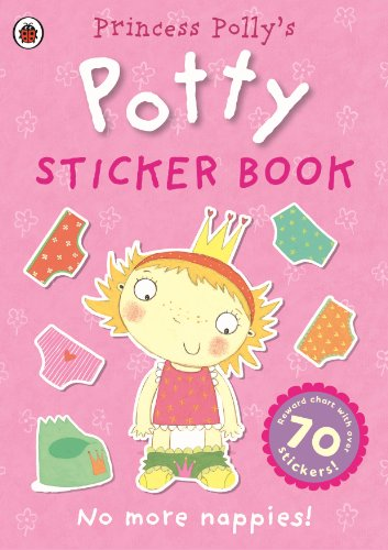 Princess Polly's Potty Sticker Activity Book by