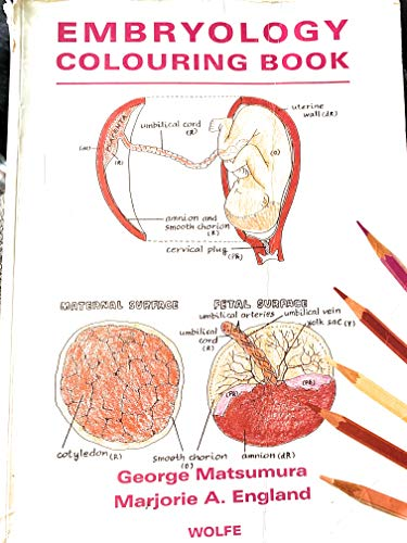 Colouring Book of Embryology by George Matsumura