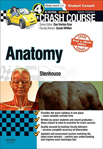 Crash Course Anatomy by Louise Stenhouse