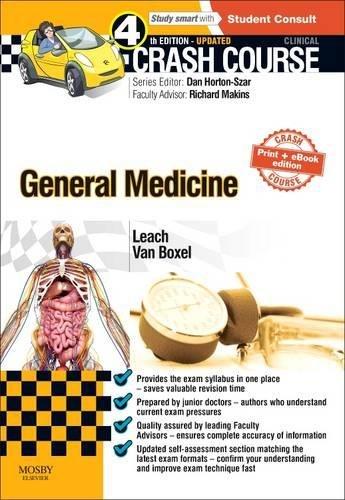 Crash Course General Medicine by Oliver Leach