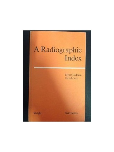 Radiographic Index by Myer Goldman