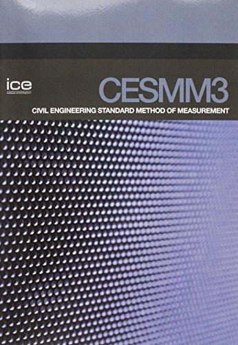 Cesmm3 Civil Engineering Standard Method of Measurement by