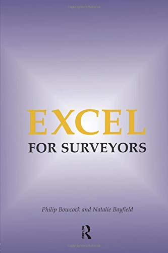 Excel for Surveyors by Philip Bowcock