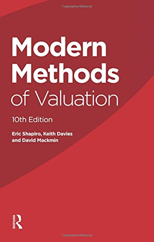 Modern Methods of Valuation by Eric Shapiro