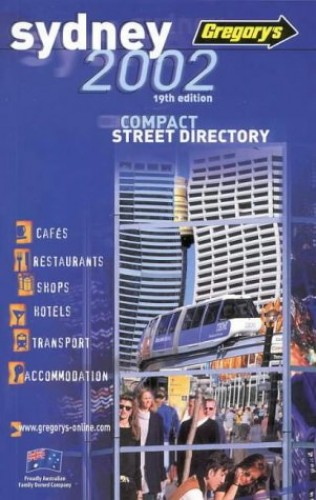 Sydney Compact 2002 Street Directory by