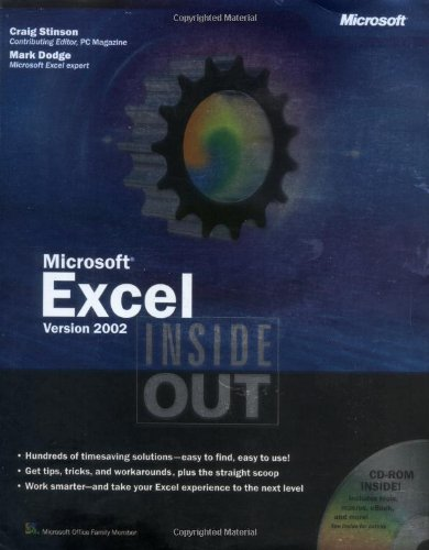 Microsoft Excel Version 2002 Inside Out by Microsoft Press