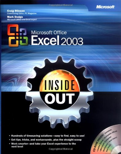 Microsoft Office Excel 2003 Inside Out by Microsoft Corporation