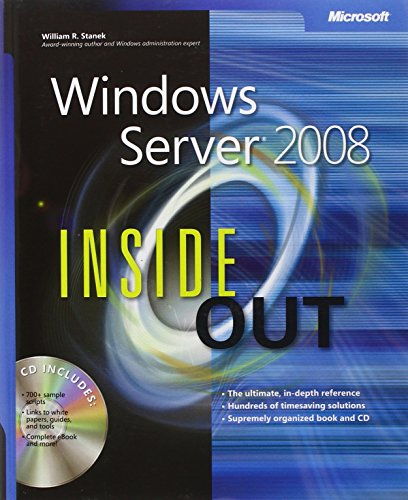 Windows Server 2008 Inside Out by William R. Stanek