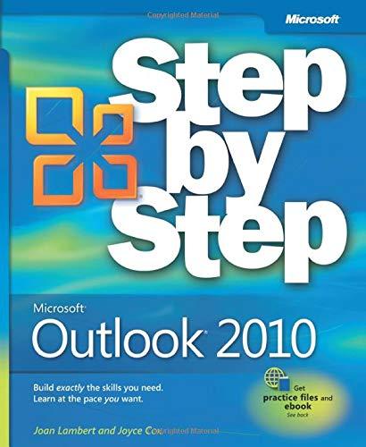 Microsoft Outlook 2010 Step by Step by Joan Lambert