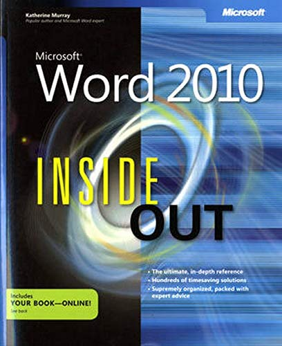 Microsoft Word 2010 Inside Out by Katherine Murray