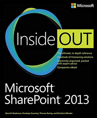 Microsoft SharePoint 2013 Inside Out by Darvish Shadravan
