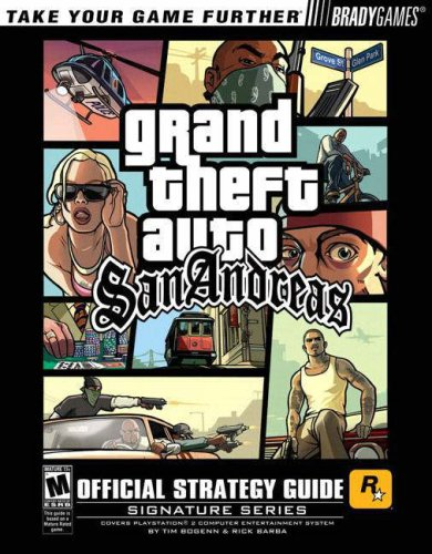 """Grand Theft Auto San Andreas"" Official Strategy Guide by Rick Barba"