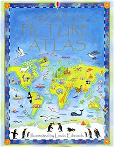 The Usborne Children's Picture Atlas by Ruth Brocklehurst