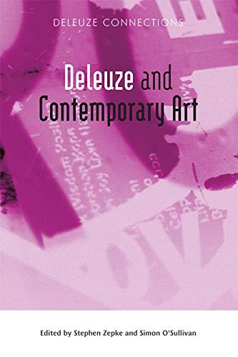 Deleuze and Contemporary Art by Simon O'Sullivan