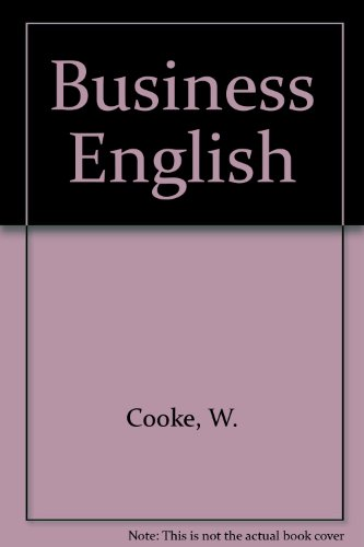 Business English by W. Cooke