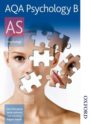 AQA Psychology B AS: Student's Book by Mark Billingham