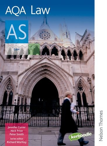 AQA Law AS by Richard Wortley