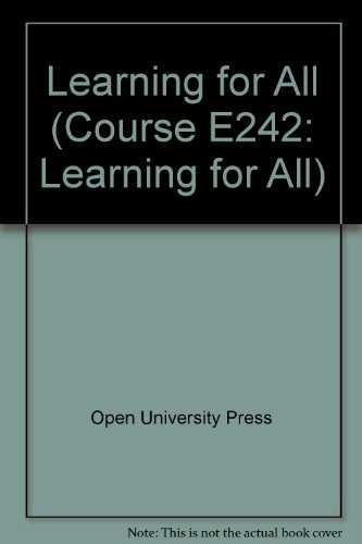Learning for All by Open University Press
