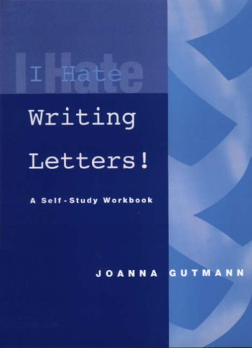 I Hate Writing Letters by Joanna Gutmann