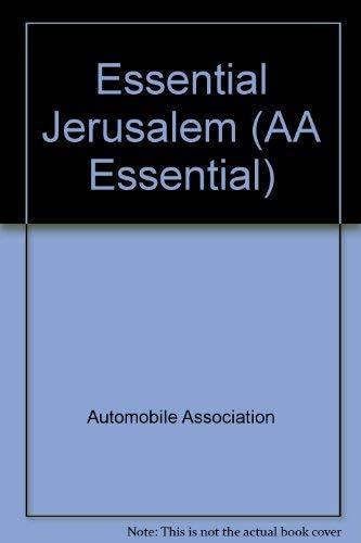 Essential Jerusalem by Automobile Association