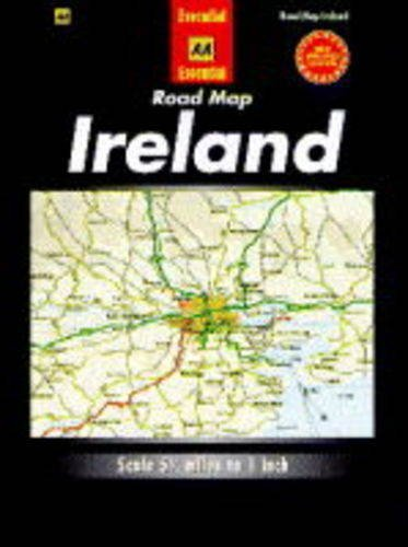 Essential Road Map Ireland by Automobile Association