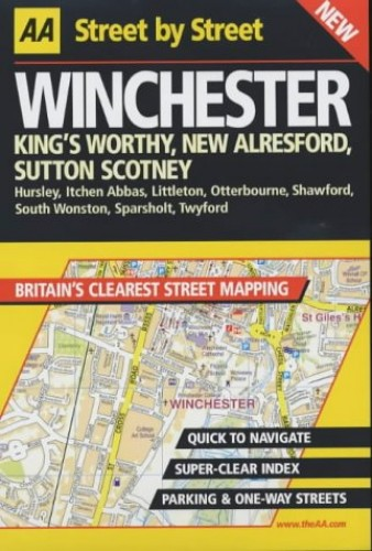 AA Street by Street Winchester by AA Publishing