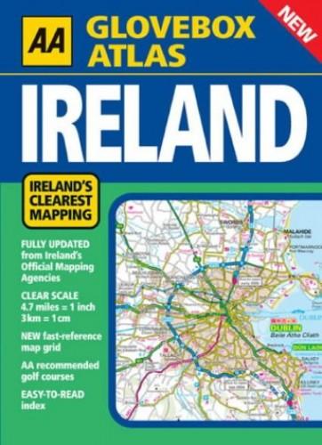 AA Glovebox Atlas Ireland by AA Publishing