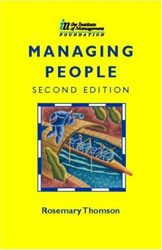 Managing People by Rosemary Thomson