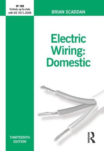 Electric Wiring: Domestic by Brian Scaddan