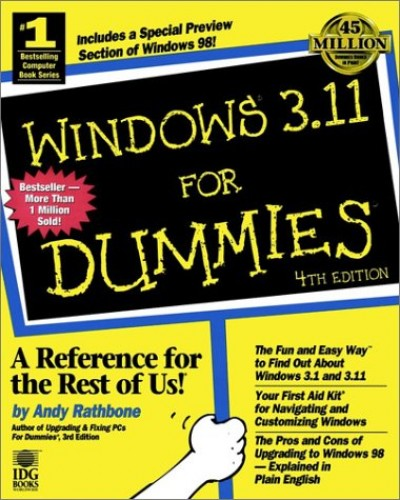 Windows 3.11 For Dummies by Andy Rathbone