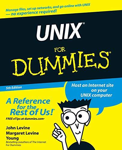 Unix for Dummies by John Levine