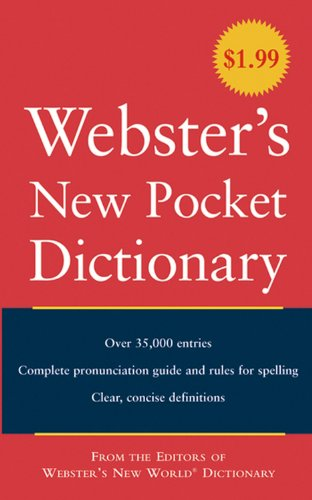 Webster's New Pocket American Dictionary by Agnes