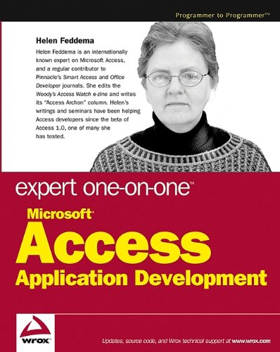 Expert One-on-one Microsoft Access Application Development by Helen Feddema