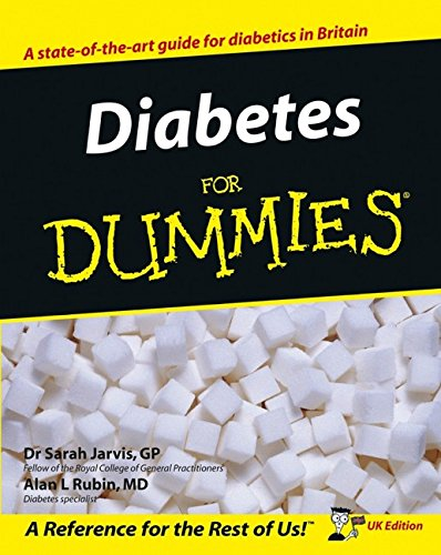 Diabetes For Dummies: UK Edition by Sarah Jarvis