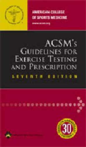 ACSM's Guidelines for Exercise Testing and Prescription by ACSM