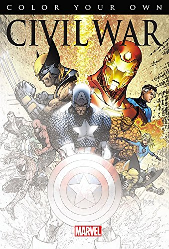 Color Your Own Civil War by Steve McNiven