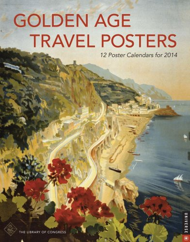Golden Age Travel 2014 Boxed Poster Wall Calendar by Library of Congress