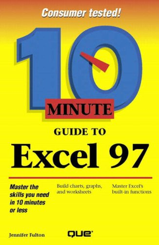 10 Minute Guide to Excel 8 by Trudi Reisner