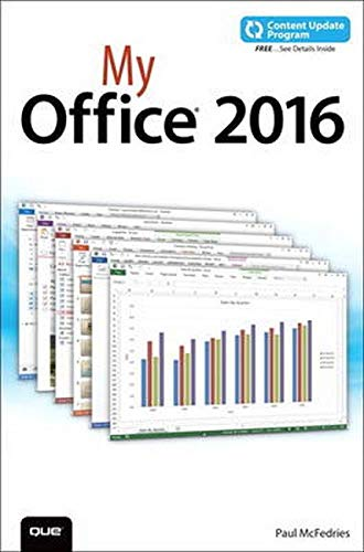 My Office 2016: Includes Content Update Program by Paul McFedries