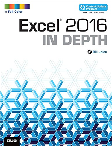 Excel 2016 in Depth by Bill Jelen