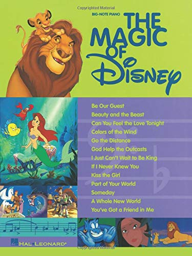 The Magic Of Disney: Big-note Piano by Hal Leonard Corp