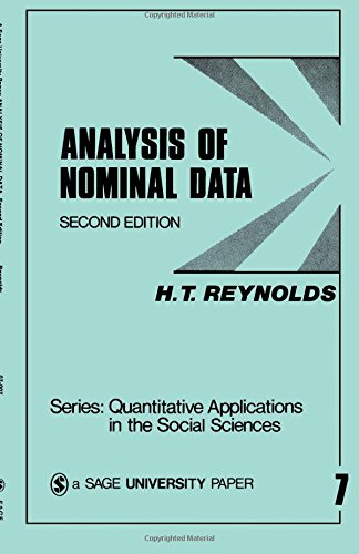 Analysis of Nominal Data by H. Reynolds