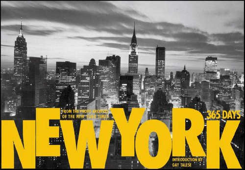 """New York: 365 Days: From the Photo Archives of the """"New York Times"""" by Gay Talese"""
