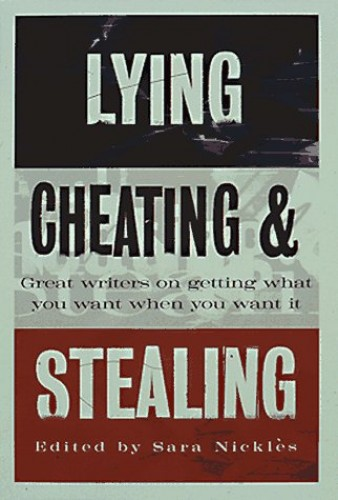 cheating and stealing Valuing honesty - responding to lying, cheating and stealing by kathy slattengren, m ed, priceless parenting is honesty one of your family's top moral values.